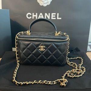 Chanel crossbody clutch